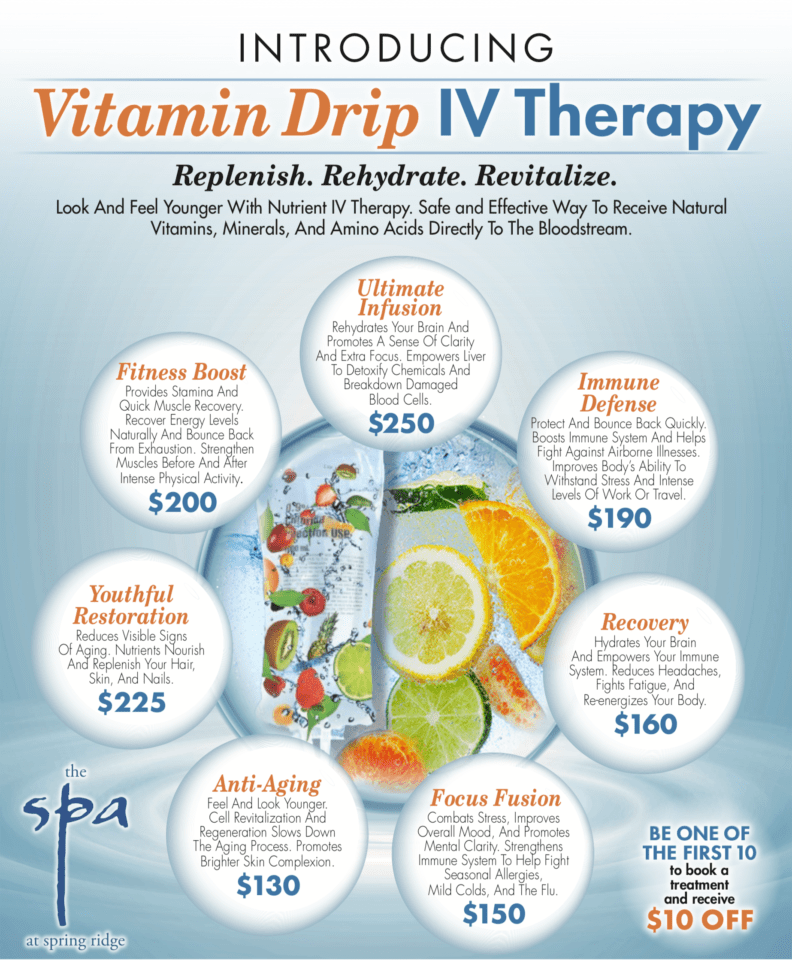 Vitamin Drip IV Therapy Specials